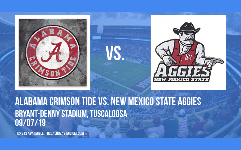Alabama Crimson Tide vs. New Mexico State Aggies at Bryant-Denny Stadium