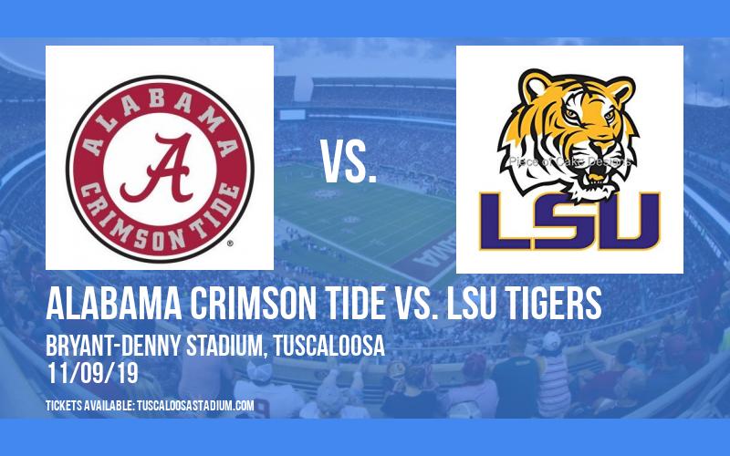 Alabama Crimson Tide vs. LSU Tigers at Bryant-Denny Stadium