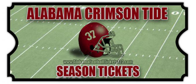 2020 Alabama Crimson Tide Football Season Tickets (Includes Tickets To All Regular Season Home Games) at Bryant-Denny Stadium