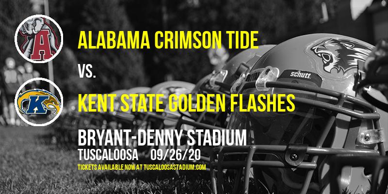 Alabama Crimson Tide vs. Kent State Golden Flashes at Bryant-Denny Stadium
