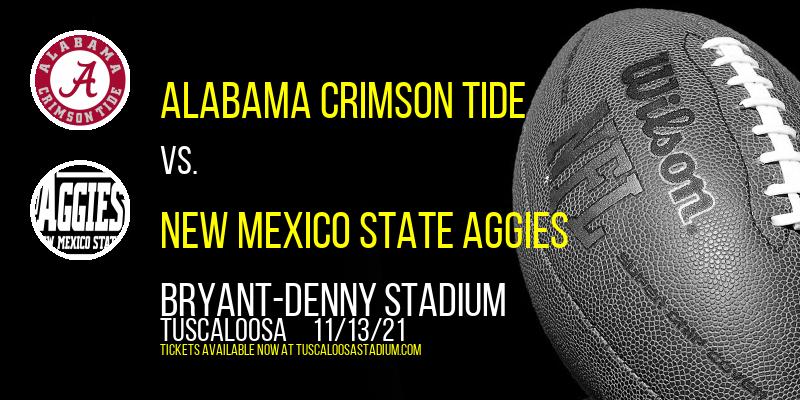 Alabama Crimson Tide vs. New Mexico State Aggies at Bryant-Denny Stadium